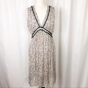 Paper Crane floral dress